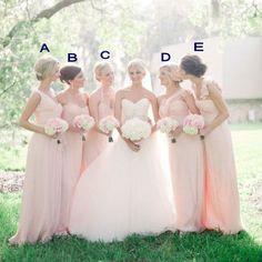 Charming Prom Dress,Beautiful Bridesmaid Dresses,A line Bridesmaid Dresses,Light