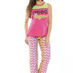 f90f074a32 6056-2-XL Just Love Women Sleepwear   Pant Sets   Womans Pajamas