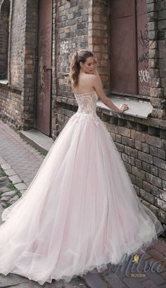Courtesy of Milva Wedding Dresses; Wedding dress idea.