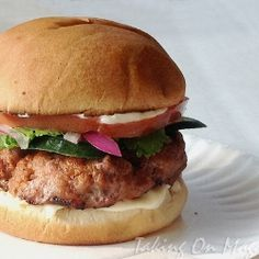 Thai Curry Turkey Burgers by TakingOnMagazines