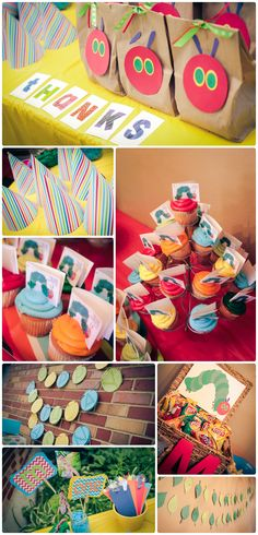 Very Hungry Caterpillar 1st birthday party, captured by Krista B. Photography! All party designs & decor by @Amy Lyons Holdner of Amy's Nifty Gifties! Too cute. www.kristaBphoto.com
