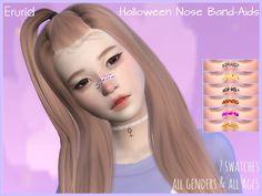 Erurid's Halloween Nose Band-Aids