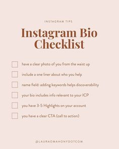 🙋🏽Hands up if you are guilty of this one  We've all done at one time or another. 🙈 We have completely neglected our bio's  and not looked at through our potential follower's eyes.    In addition to your feed, your bio is one of the main reasons that someone will decide to follow you or not. 🤔 If you are currently neglecting your bio then you may be losing out on potential followers.   🤗  I've put together some actionable tips that you can put into practice today so that your…