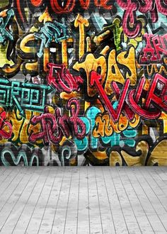 Vinyl Graffiti wall Photo Backdrops Kids model party Photography Background for photo studio Brick Wall Background, Party Background, Background Images, Portrait Background, Wall Backdrops, Photo Booth Backdrop, Custom Backdrops, Muslin Backdrops, Studio Backdrops