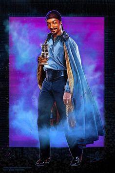 Snoop Dogg as Lando Calrissian By Blake Armstrong aka Spaceboy Comics