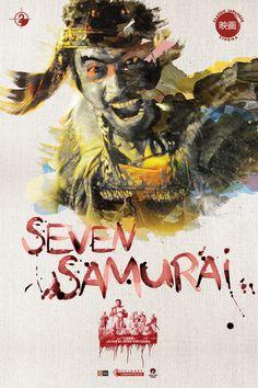 13 filmes de Samurais (Bushido) | Cinetoscópio  Sete Samurais (Shichinin no Samurai. Akira Kurosawa – 1954)