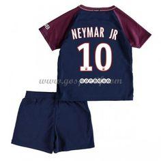 051dd5313c2f1 Paris Saint Germain Psg maillot de foot enfant 2017-18 Neymar Jr 10 maillot  domicile