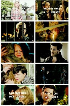 Captain Swan and the believe theme from the beginning of season 3 fulfilled!