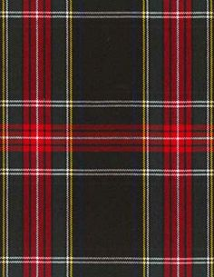 St Mary plaid by the yard