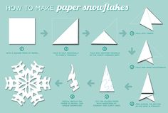 Paper Snow Flakes With Words - Bing Images 3 Year Old Birthday Party, Frozen Birthday Party, Homemade Christmas Decorations, Holiday Crafts, Holiday Decor, Diy Craft Projects, Crafts For Kids, Diy Crafts, Prom Ideas