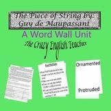 The Piece of String by Guy de Maupassant: Common Core CCSS