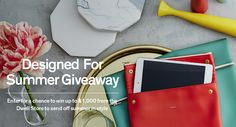 @Dwell is giving 7 #modern #design savvy winners up to $1,000 in Dwell Store gift cards to celebrate #Summer. Enter for your chance to win!