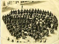 PHOTO * Mondasport Well Marseille * orchestre militaire * répétition *   eBay Drum, Ceiling Lights, History, Ebay, Marseille, Orchestra, Military Men, Photography, Historia