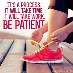 Motivational Fitness Quotes QUOTATION – Image : Quotes Of the day – Description Be Patient Sharing is Caring – Don't forget to share this quote ! Fit Girl Motivation, Running Motivation, Fitness Motivation Quotes, Health Motivation, Weight Loss Motivation, Fitness Tips, Health Fitness, Running Workouts, Fun Workouts