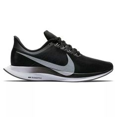 584851744285 Nike Wraps the Zoom Pegasus Turbo in a Subtle Black Silver Colorway