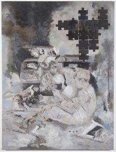 Interior  Oil on Canvas, 60 × 80 cm, 2011, Uwe Wittwer - Artist