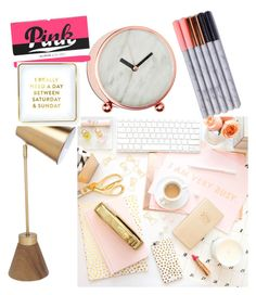 """""""#onmydesk"""" by dutchmuslimstyle ❤ liked on Polyvore featuring interior, interiors, interior design, home, home decor, interior decorating, Saturday/Sunday and onmydesk"""