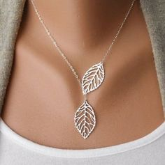 Cheap collares mujer, Buy Quality colliers femme bijoux directly from China chain pendant Suppliers: 2017 Trendy Golden Leaf Choker Chain Pendant Necklace Women Clavicle Chain Statement Necklace collier femme bijou collares mujer Leaf Necklace, Necklace Types, Pendant Necklace, Necklace Chain, Simple Necklace, Necklace Price, Short Necklace, Layered Necklace, Dainty Necklace