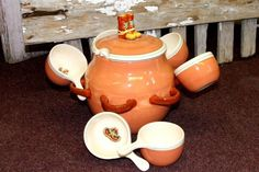 Items similar to Western soup serving set on Etsy Southern Dishes, Soup Bowls, Westerns, Etsy, Decor, Decoration, Decorating, Dekorasyon