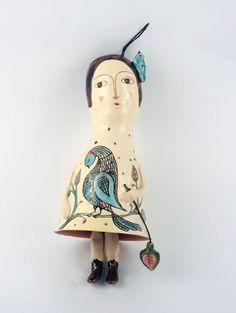 Clopoțel păpușă din ceramică – 250 lei   EliteArtGallery - galerie de artă