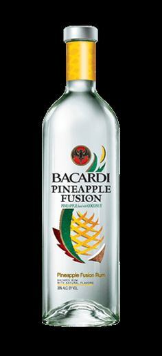 BACARDÍ Pineapple Fusion is a refreshing and exotic rum drink made with pineapple and coconut. Discover this delicious rum today.