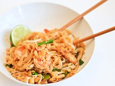 Another pad thai recipe.  I could just keep trying them!  This one has both shrimp and tofu, so it gets extra credit for me.