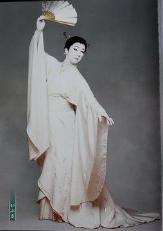 Bando Tamasaburo by jumbokedama, via Flickr