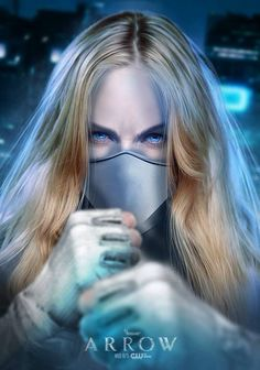 And here is the maskless version of Caity Lotz as White Canary, Arrow, and Legends of Tomorrow by BossLogic Arrow Black Canary, White Canary, Dc World, Univers Dc, Lance Black, Supergirl And Flash, Supergirl Season, Arrow Tv, Dc Legends Of Tomorrow