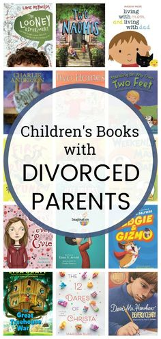 Recommended Books About Families with Divorced Parents #kids #divorce