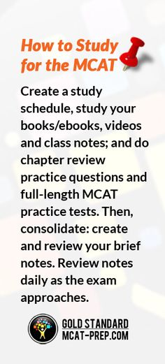 261 best mcat prep images on pinterest colleges gym and school mcat prep courses packed with online lessons videos and mcat practice tests are available on a monthly fixed access period or as complete mcat prep fandeluxe Image collections