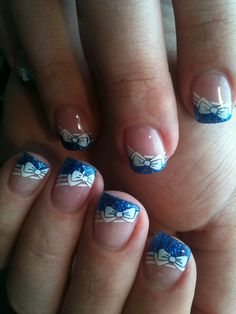 Gel nail art- maybe just on one finger?