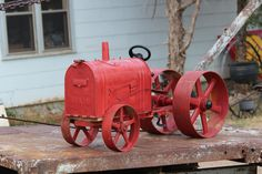 mail box tractor.