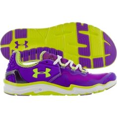 Under Armour Women's Charge RC 2 Running Shoe - Purple/Lime | DICK'S Sporting Goods