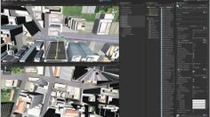 City Ball - CityEngine and Unity with dynamic path finding via NavMesh