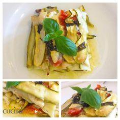 Lasagna di zucchine, deliziosa, semplice e veloce ricetta perfetta per l'estate http://cuciniamo.mammeonline.net/lasagna-di-zucchine/