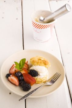 mixed berry shortcake. delish.