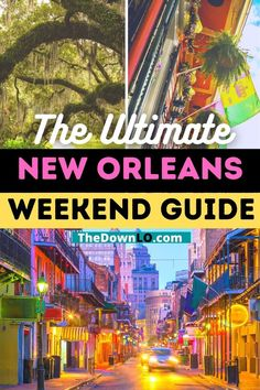 The Ultimate New Orleans Weekend Guide. How to spend 36 hours in New Orleans - the best restaurant in Nola, what to do on Bourbon Street, things to do in New Orleans with kids, and free things to do in nola. #neworleans #nola #travel Usa Travel Guide, Travel Advice, Travel Usa, Travel Guides, Travel Tips, Usa Cities, Road Trip Usa, United States Travel, Cool Places To Visit