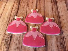 Sleeping Beauty dresses - sugar cookies