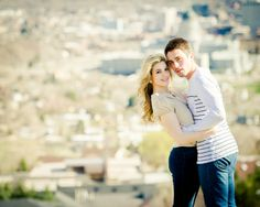 Gorgeous Utah engagement session by eWatts Photography | Two Bright Lights :: Blog