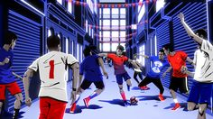 To celebrate the launch of the new Chile Team Kit, we worked with Nike Football to create this endlessly zooming animation which was used across social media as well as in-store. Fun fact: With each