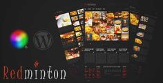 Download and review of Redminton - Restaurant WordPress Theme, one of the best Themeforest Entertainment themes {Download & review at|Review and download at} {|-> }http://best-wordpress-theme.net/redminton-restaurant-download-review/