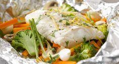 Papillote de poisson au brocolisVoir la recette de la Papillote de poisson au brocolis >>