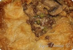 Friendship Pie - Vegan Meat Pie