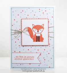 Janas Bastelwelt - Unabhängige Stampin' Up! Demonstratorin: Foxy Friends