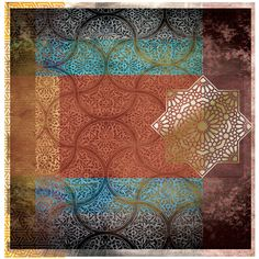 Arabic Geometry 18 by Gregg Sedgwick. Buy now from $440 at g-1.com. Strictly limited editions of just 50 prints.