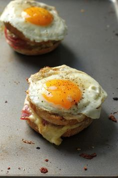 Croque Madame McMuffins