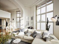 Con un loft así me haría FAN de subir y bajar escaleras ¿y vosotros? | Decorar tu casa es facilisimo.com