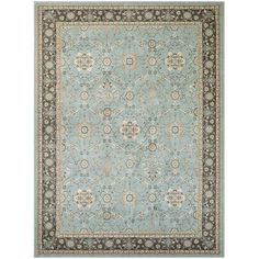 "Darby Home Co Germantown Blue Area Rug Rug Size: Runner 2'7"" x 7'10"""