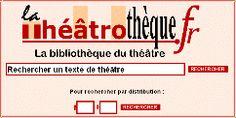 Théâtrothèque : Textes de théâtre