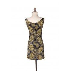 Muted Matrix Mini Dress